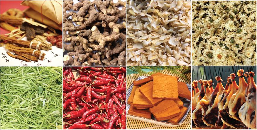 中药材与农产品烘干